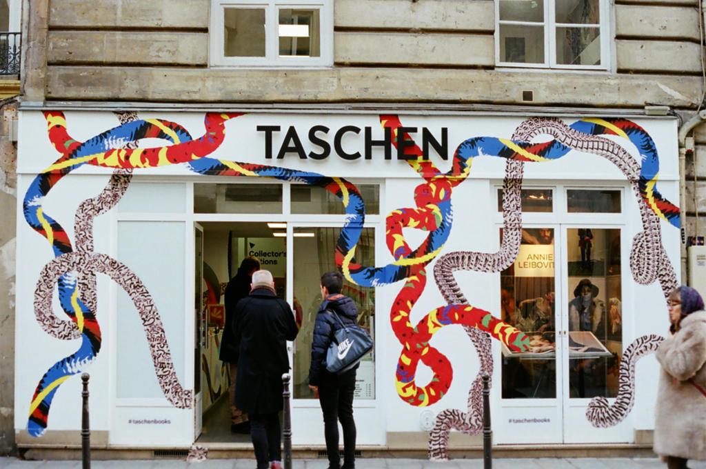 Paris Le Marais: Taschen Pop-up by neuroplasticcreative