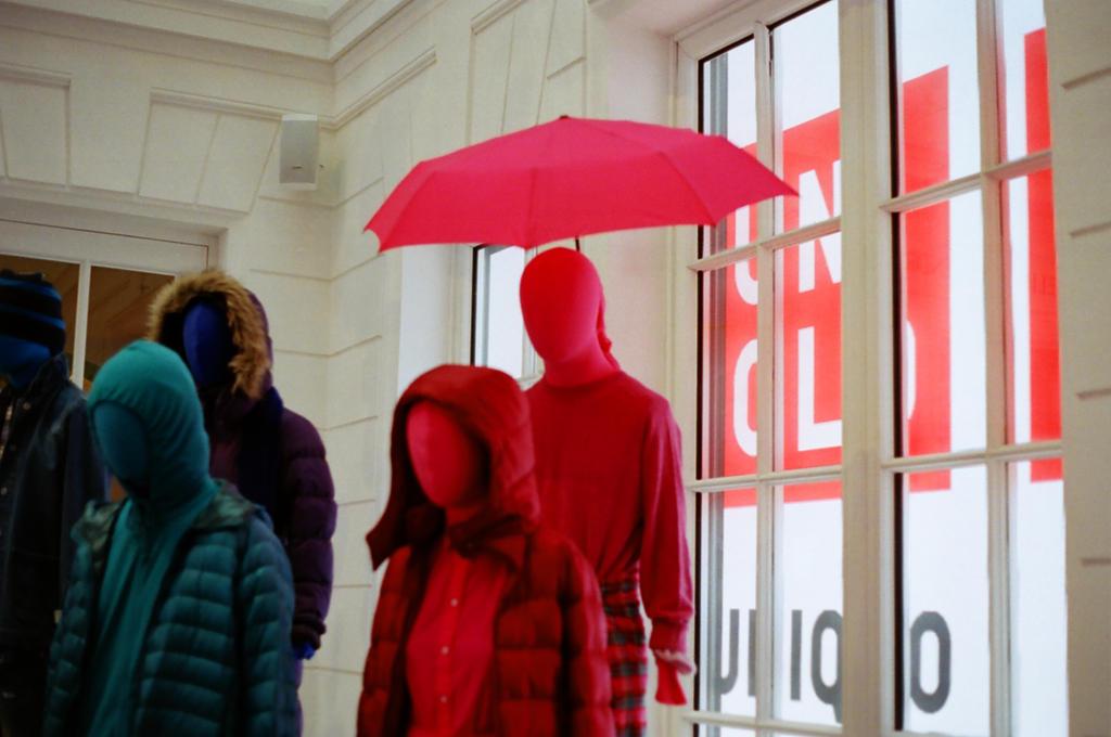 Paris Le Marais: UNIQLO LE MARAIS by neuroplasticcreative