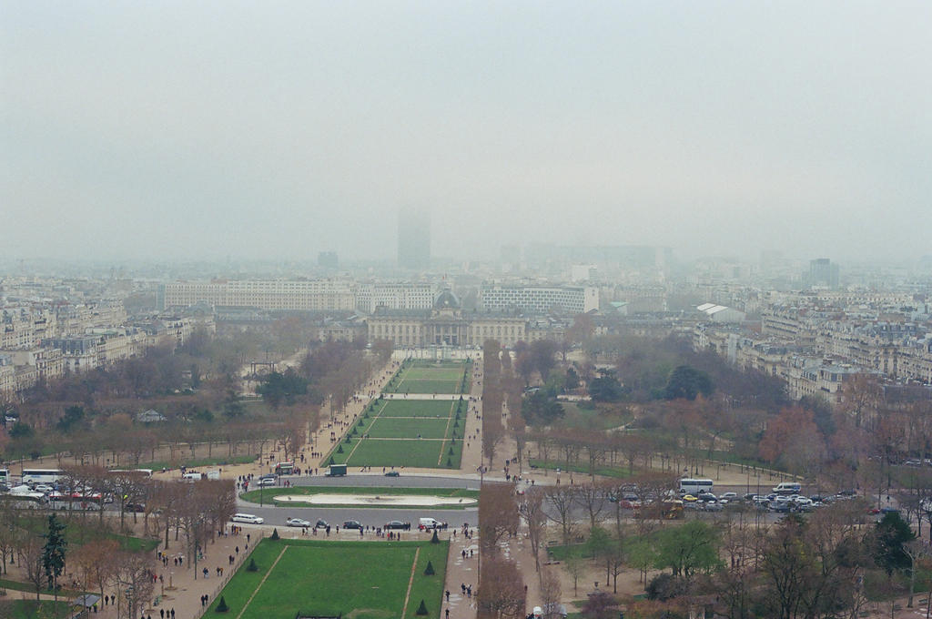 Champs de Mars, II by neuroplasticcreative