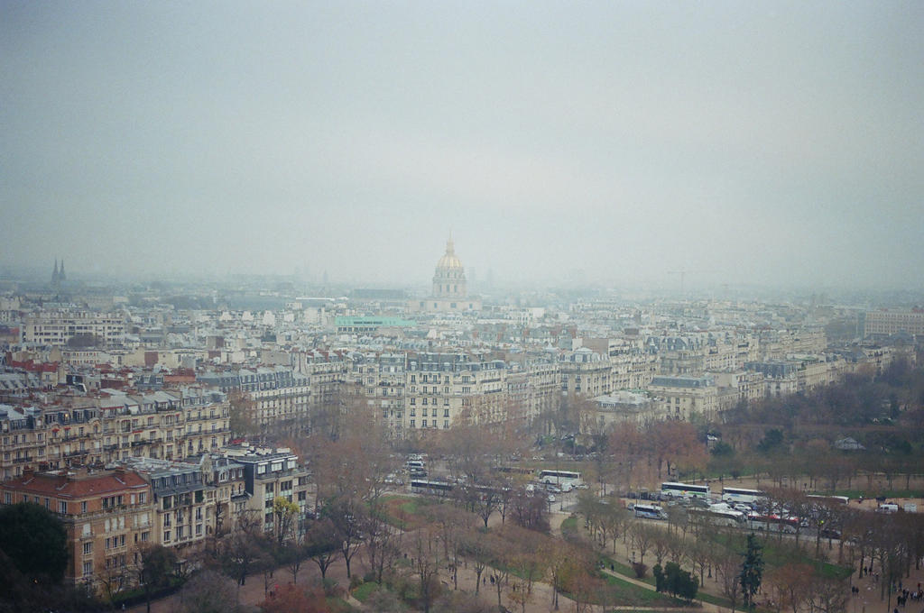 La Tour Eiffel: Paris, II by neuroplasticcreative