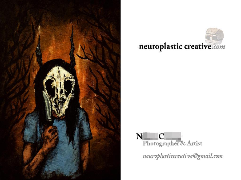 neuroplastic creative business card