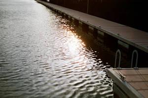 Grand Canal Dock: Sun Sets