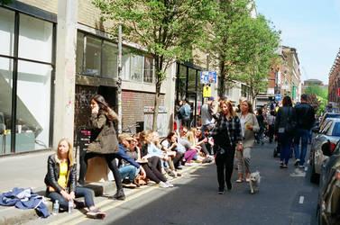 Brick Lane: Street, I by neuroplasticcreative