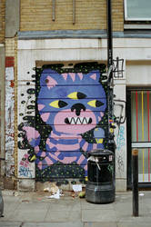 Brick Lane: Graffiti, II by neuroplasticcreative