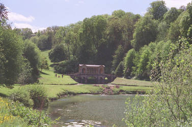 Prior Park Landscape Garden: Bridge, I by neuroplasticcreative