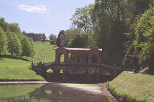 Prior Park Landscape Garden: Bridge, III by neuroplasticcreative