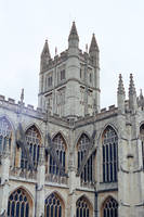 Thermae: View of Bath Abbey, I by neuroplasticcreative