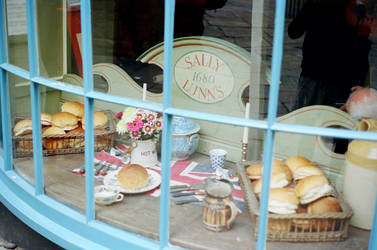 Bath: Sally Lunn's by neuroplasticcreative