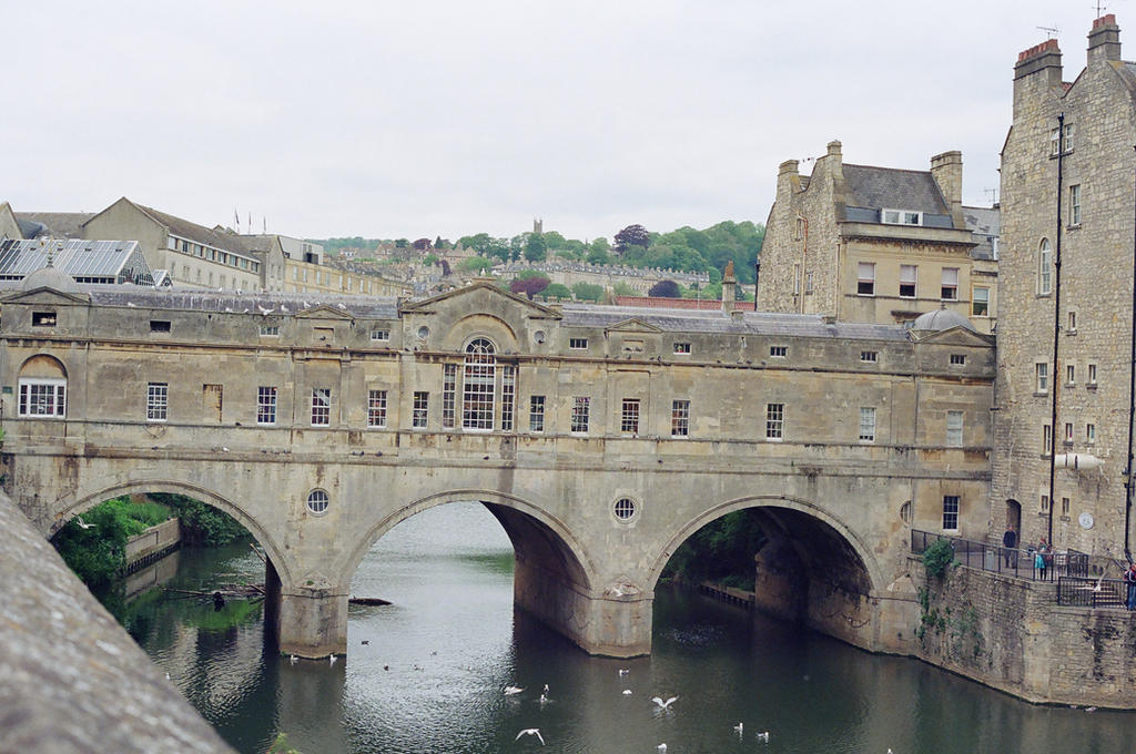Bath: Pulteney Bridge by neuroplasticcreative