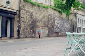 Bath: Disappear, Leaves by neuroplasticcreative
