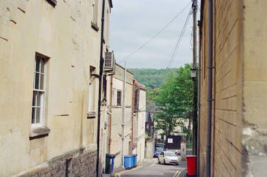 Bath: Down a narrow lane by neuroplasticcreative
