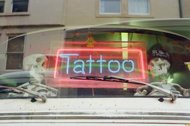 Bath: Broad Street Tattoo Studio, I