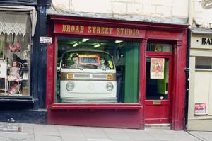 Bath: Broad Street Tattoo Studio, I by neuroplasticcreative