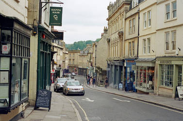 Bath: The Street by neuroplasticcreative