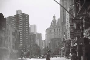 Manhattan/Chinatown, VII by neuroplasticcreative