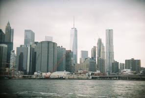 Brooklyn in Color: Big City, II by neuroplasticcreative