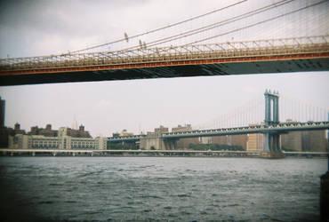 Brooklyn in Color: Brooklyn Bridge, II