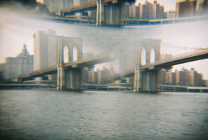 Brooklyn in Color: Double Vision, III by neuroplasticcreative