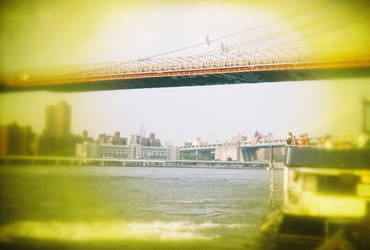Brooklyn in Color: Brooklyn Bridge, IV by neuroplasticcreative