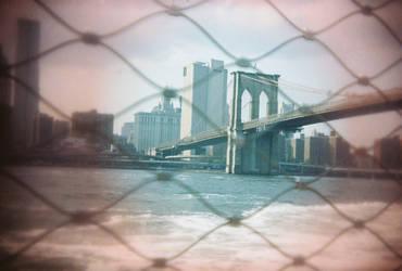 Brooklyn in Color: Red Eyes, III by neuroplasticcreative