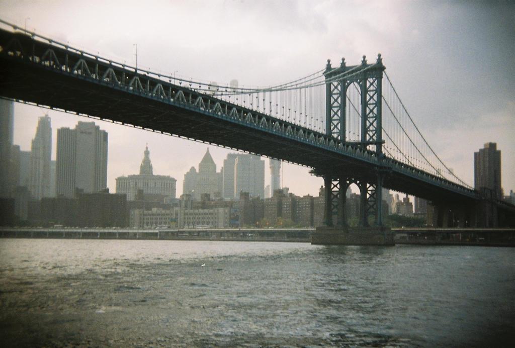 Brooklyn in Color: Brooklyn Bridge, VI by neuroplasticcreative