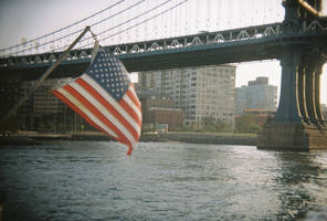 Brooklyn in Color: Gxd Bless Xmerica by neuroplasticcreative