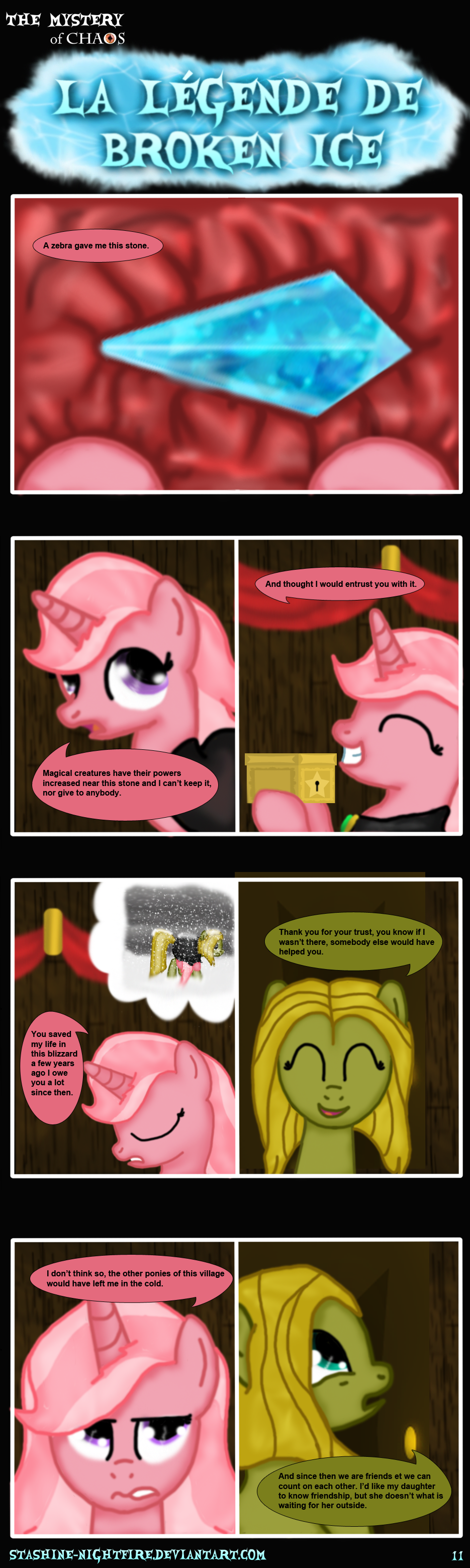 MLP: La legende de Broken Ice page 11 ENG by stashine-nightfire