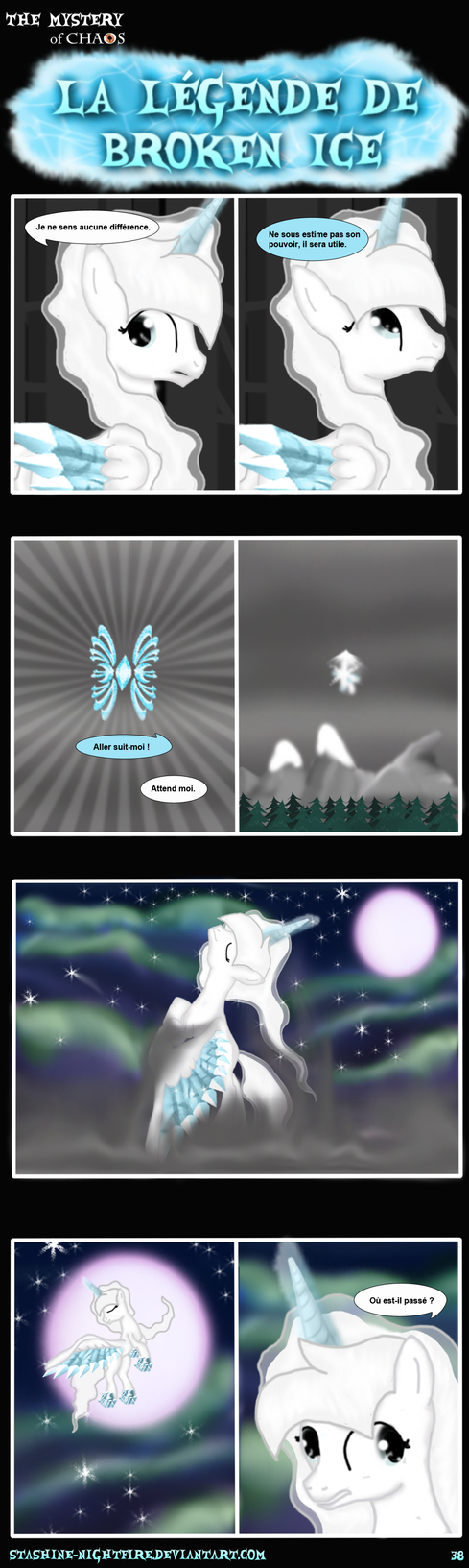 MLP: La legend Broken Ice page 38 by stashine-nightfire