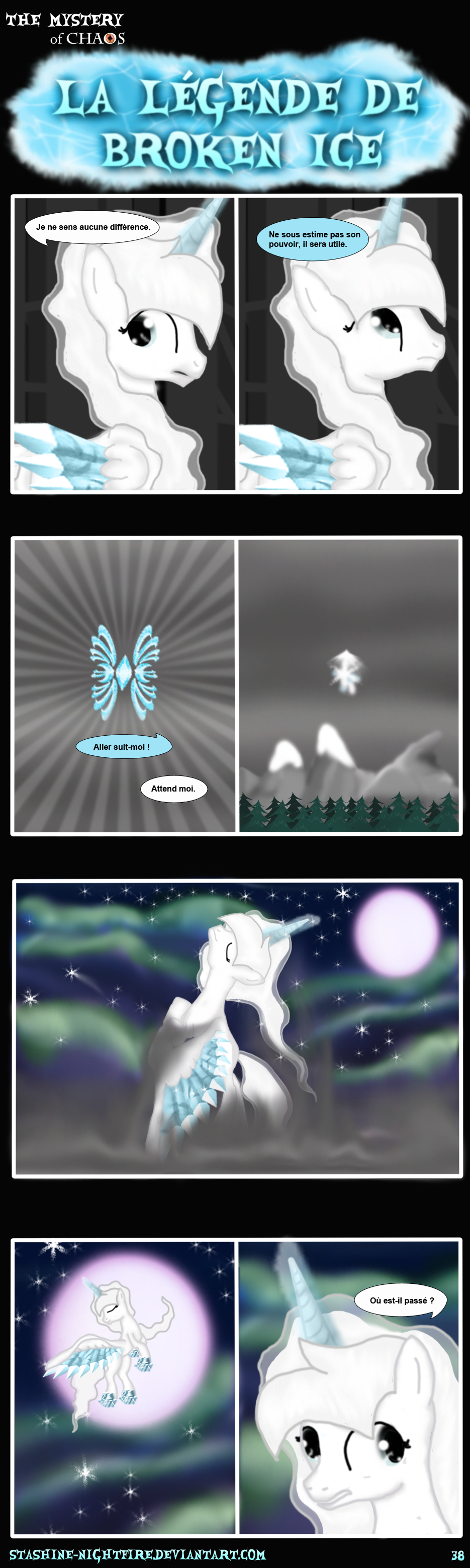 MLP: La legend Broken Ice page 38 by stashine-nightfire