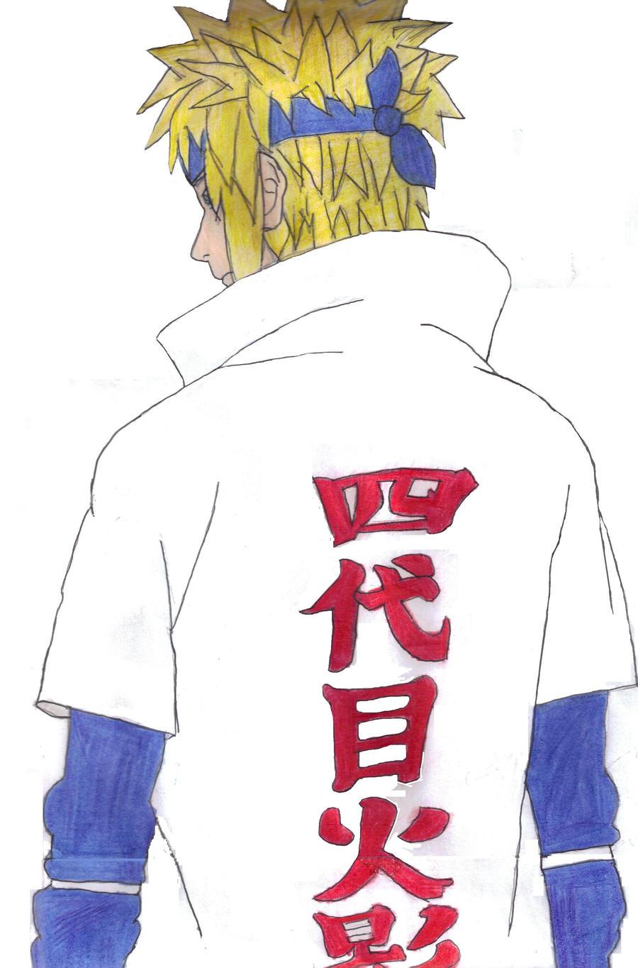 Minato: the Fourth Hokage by fifthknown on DeviantArt