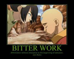 Bitter Work Motiv. Poster by fifthknown