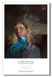 A GUT FEELING print by NSN-Design