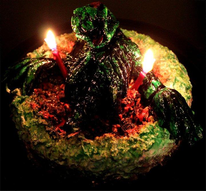 Pin zombie birthday cake album childrens cakes pinterest