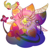 Sectonia (Kirby Triple Deluxe) by PhiphiAuThon