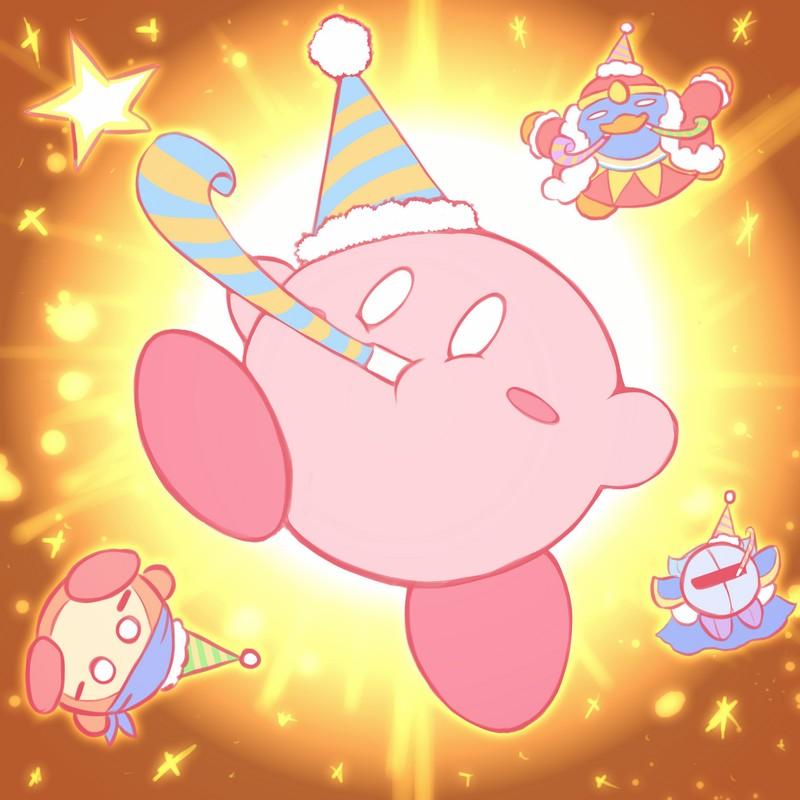 happy birthday kirby by phiphiauthon on deviantart