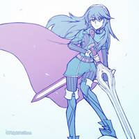Smash4 Character Countdown #45: Lucina by PhiphiAuThon