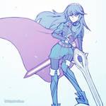 Smash4 Character Countdown #45: Lucina