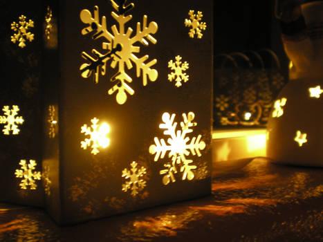Christmas Candle Decor