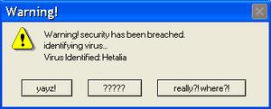 Hetalia Error Message