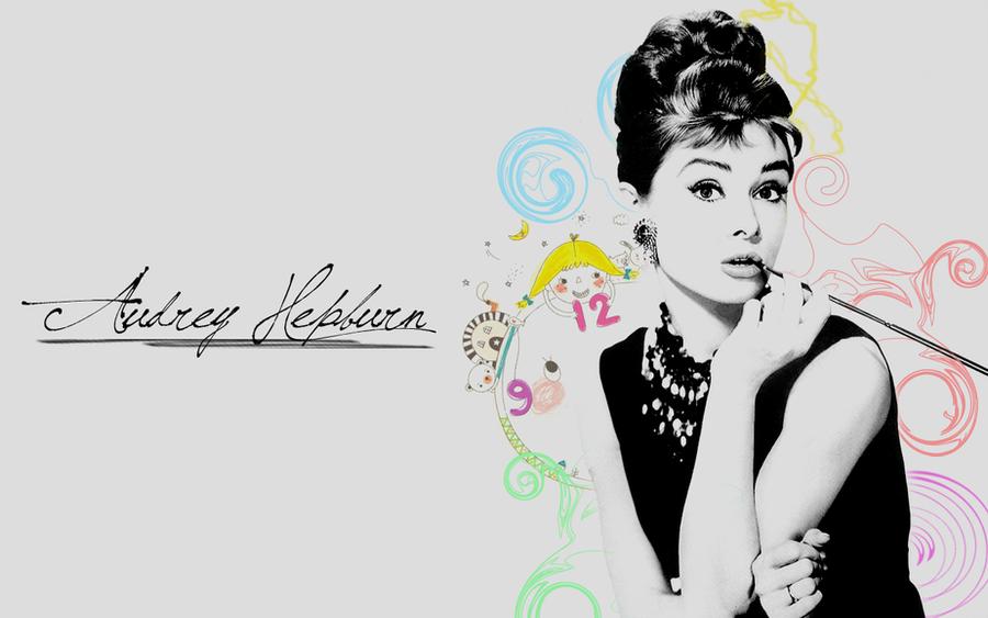 Audrey Hepburn Wallpaper By Franasp