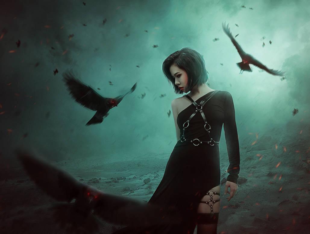 Raven Princess by OlgaSava