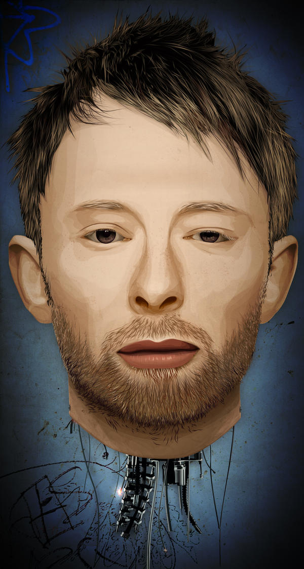 Thom Yorke the Android by fat-jedgfx