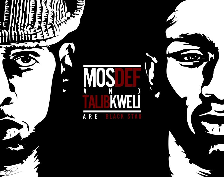 Mos Def 'n' Talib Kweli by fat-jedgfx