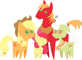 BBBFF Apple Family by Secret-Asian-Man