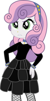 Equestria Girls Meanie Belle