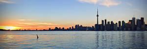 Toronto Panorama by dunkeltoy