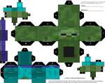 Minecraft Zombie Cubeecraft