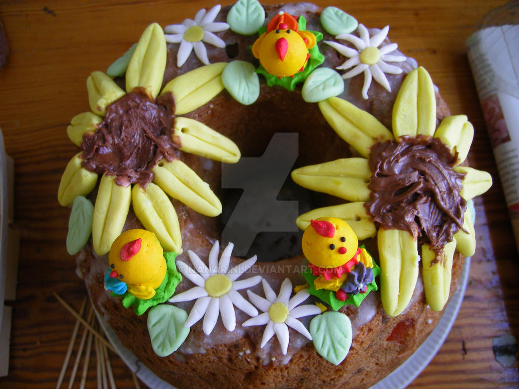 Easter bakery decoration by nanarini on deviantart for Bakery decoration