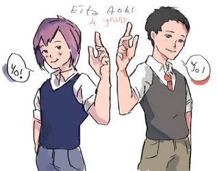 Eita by Kukiko-tan