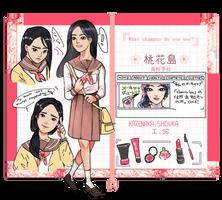 Shouka Kazenaka - Momokoukou by Kukiko-tan